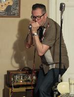 21.04.2016 CHARLIE SLAVÍK Revue v Blues Café.