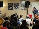18.4.2018 David EVANS (USA) - Charlie Slavík - Jan Sobotka v Blues Café